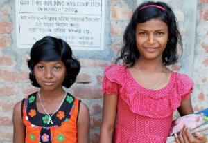 Pige i LALskoler i Bangladesh