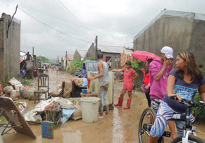 Oversvømmelse Filippinerne
