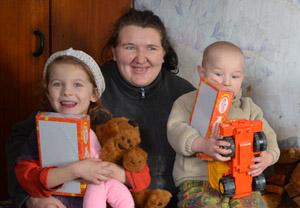 Ukrainsk familie-web